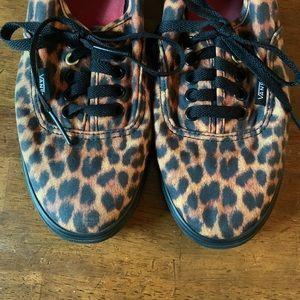 Vans | Cheetah Print Skater Sneakers